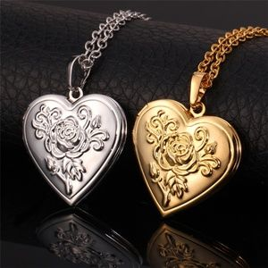 Jewelry - 18K Gold Plated Locket Necklace